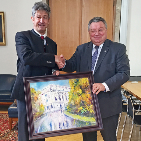 St. Petersburg Polytechnic University and TU Graz celebrate the five-year strategic partnership